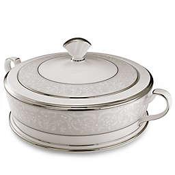 Noritake® Silver Palace Covered Vegetable Bowl