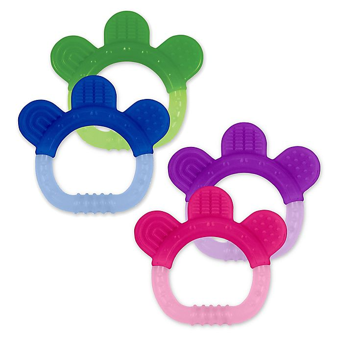 Alternate image 1 for green sprouts® Sili Paw Teether (2-Pack)