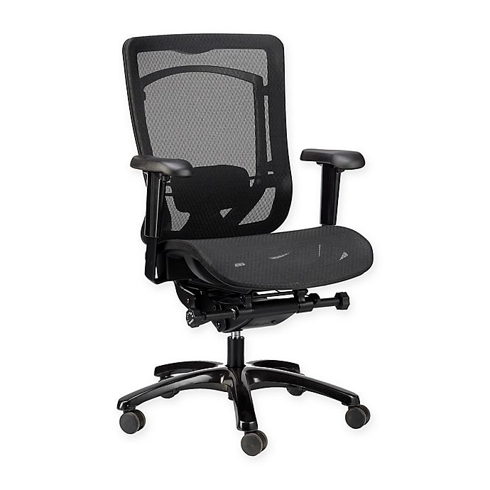 Alternate image 1 for Eurotech™ Monterey High-Back Mesh Executive Chair in Black