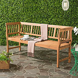Safavieh Brentwood All-Weather Acacia Wood Bench