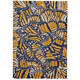 Feizy Cerys Cornflower 2-Foot 10-Inch x 7-Foot 10-Inch Multicolor Runner