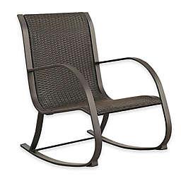 Abbyson Living® Gabriela Outdoor Wicker Rocking Chair