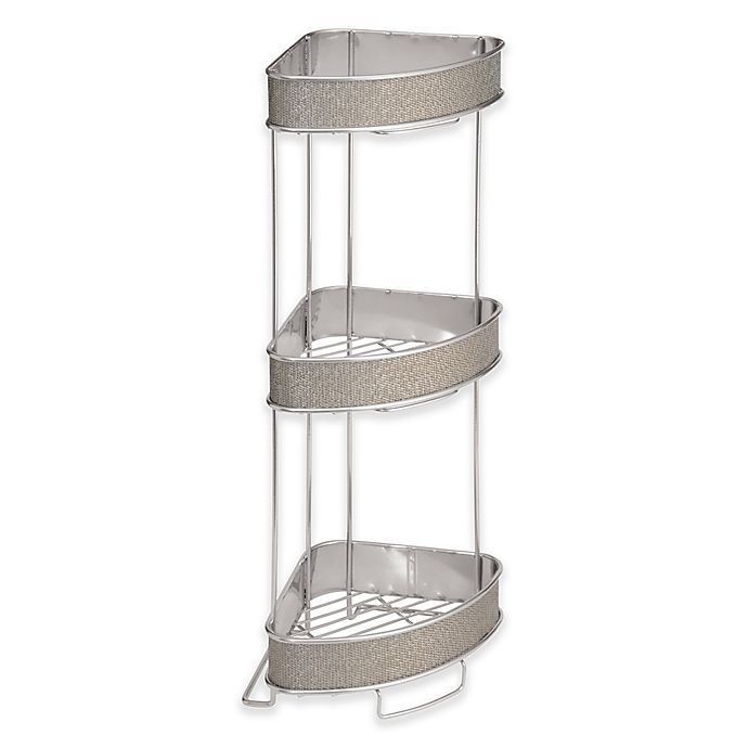 Alternate image 1 for iDesign® Twillo 3-Tier Standing Corner Storage Shelf