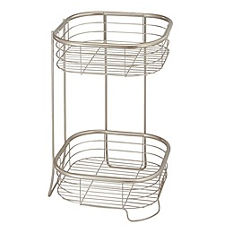 iDesign® Forma 2-Tier Square Shelf