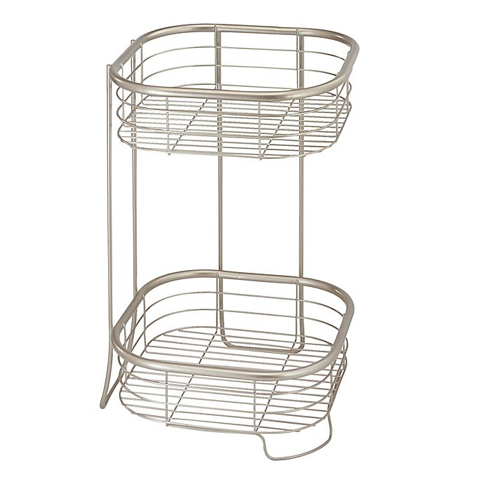 Alternate image 1 for iDesign® Forma 2-Tier Square Shelf