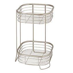 iDesign® Forma 2-Tier Square Shelf
