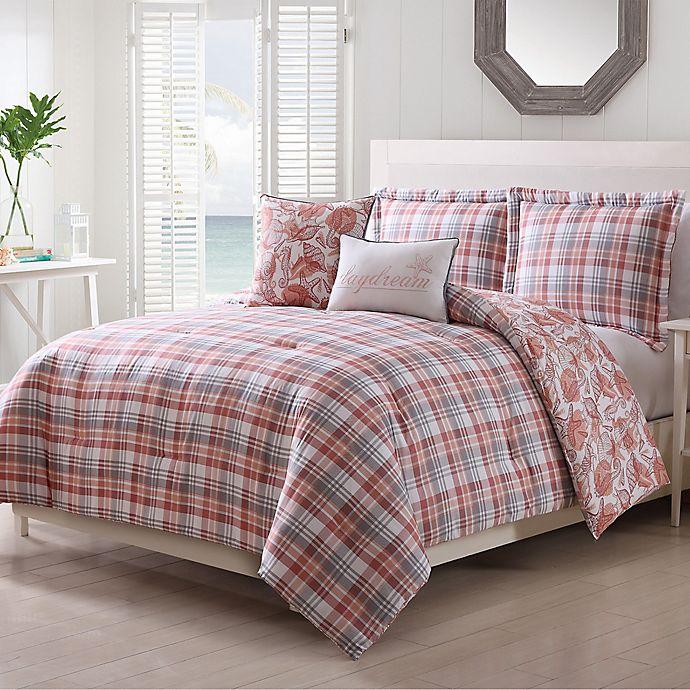 Alternate image 1 for Pescadero 5-Piece Comforter Set in Coral