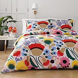 marimekko® Ojakellukka Comforter Set in Red