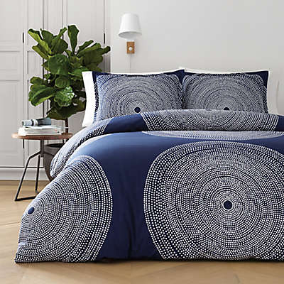 marimekko® Fokus Duvet Cover Set in Navy