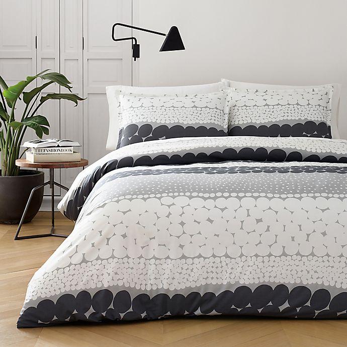 Alternate image 1 for marimekko® Jurmo King Comforter Set in Grey