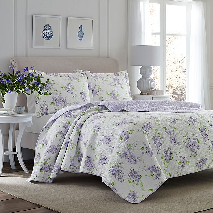Laura Ashley Keighley Quilt Set Bed Bath Beyond