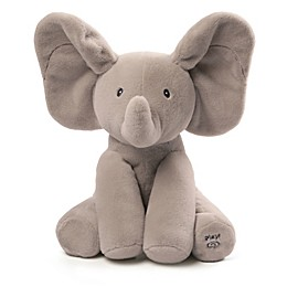 Gund® French Flappy the Elephant Animated Plush Toy in Grey