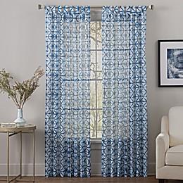Sumatra Tab Top Sheer Window Curtain Panel
