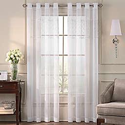 Grace Grommet Top Sheer Window Curtain Panel