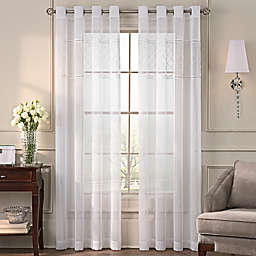 Grace Grommet Top Sheer Window Curtain Panel