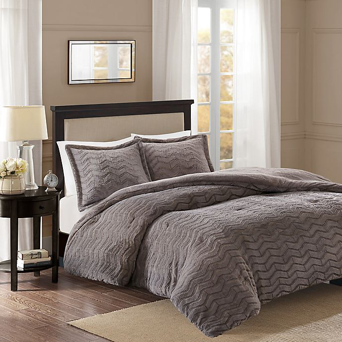 Alternate image 1 for Premier Comfort Sloan Chevron Comforter Set