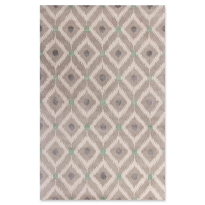 Alternate image 1 for KAS Bob Mackie Home Mirage 5-Foot x 8-Foot Area Rug in Grey