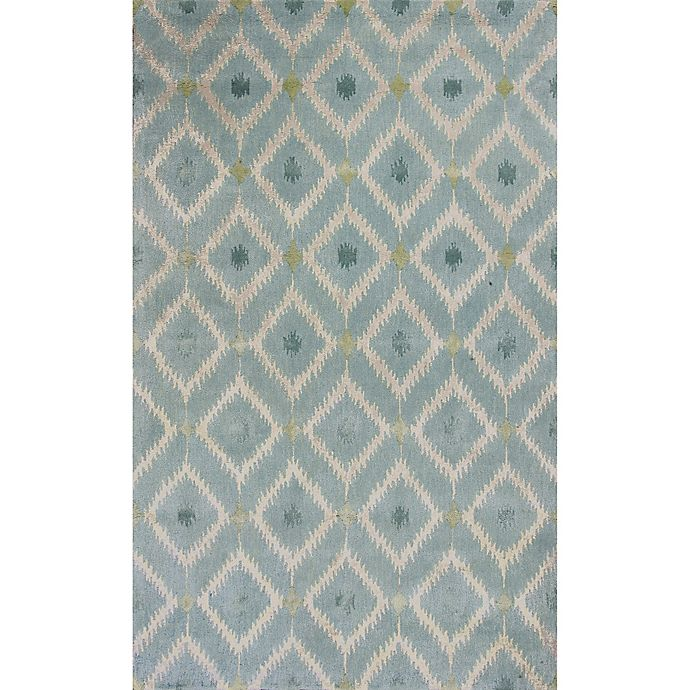 Alternate image 1 for KAS Bob Mackie Home Mirage 9-Foot x 13-Foot Area Rug in Blue