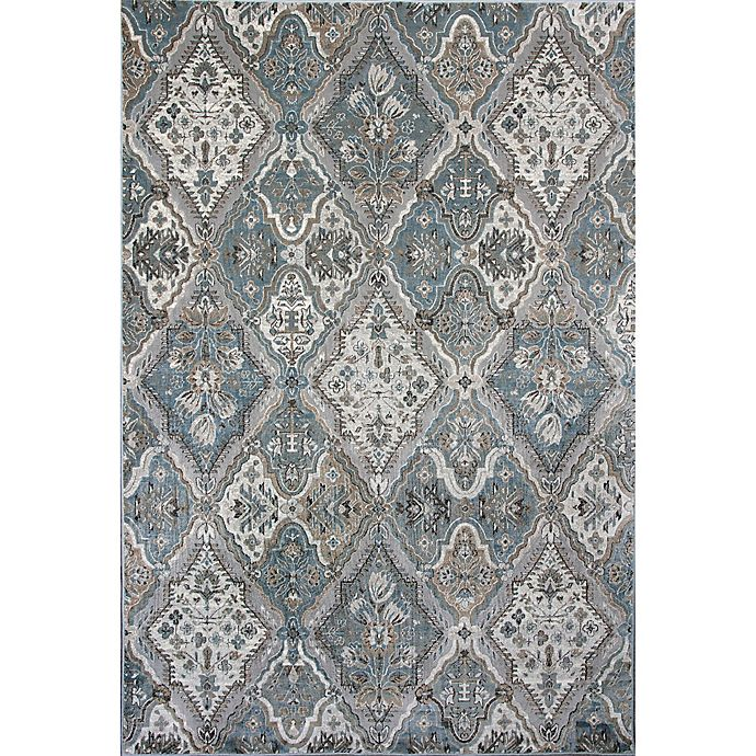 Alternate image 1 for KAS Provence Palazzo 2-Foot 2-Inch x 3-Foot 7-Inch Accent Rug in Silver