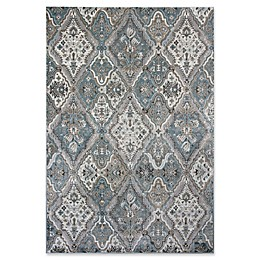KAS Provence Palazzo Rug in Silver