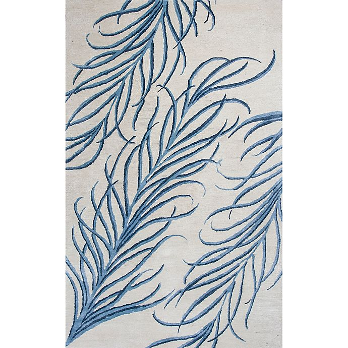 Alternate image 1 for Bob Mackie Home Plume 9-Foot x 13-Foot Area Rug in Ivory