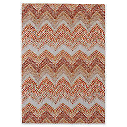 Feizy Cerys Sunset Rug in Orange