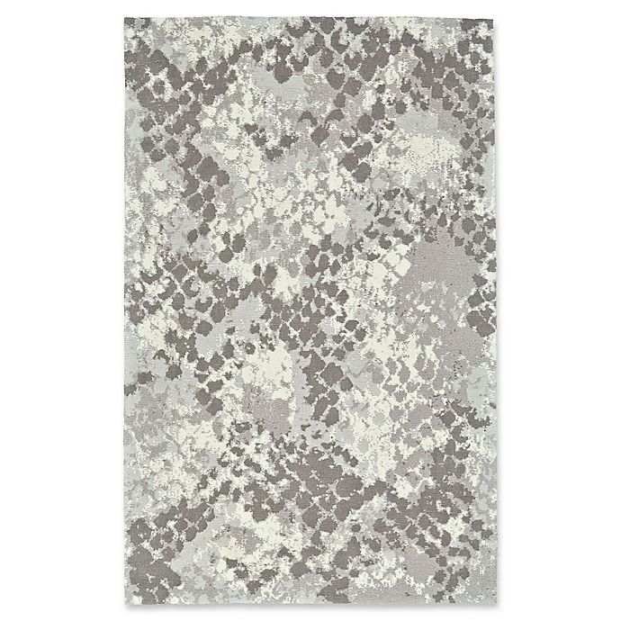 Alternate image 1 for Feizy Pia Abstract Rug in Grey