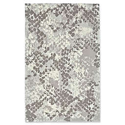 Feizy Pia Abstract Rug in Grey