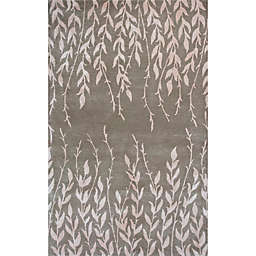 KAS Bob Mackie Home Tranquility 3-Foot 3-Inch x 5-Foot 3-Inch Area Rug in Beige