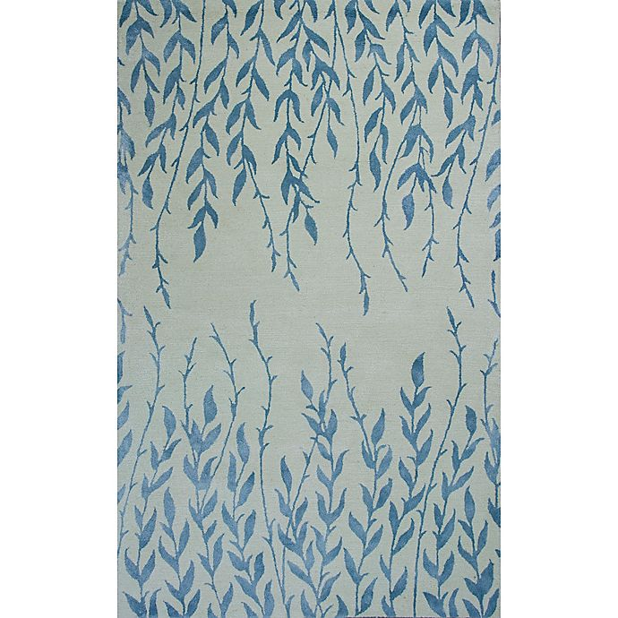 Alternate image 1 for KAS Bob Mackie Home Tranquility 9-Foot x 13-Foot Area Rug in Ivory