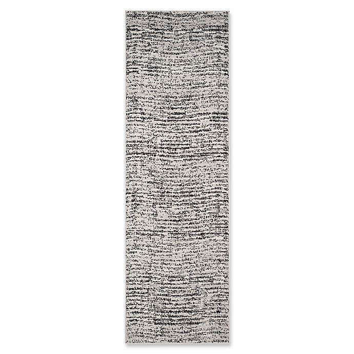 Alternate image 1 for Safavieh Adirondack Heather 2-Foot 6-Inch x 4-Foot Accent Rug in Black