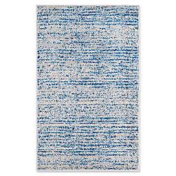 Safavieh Adirondack Heather 3-Foot x 5-Foot Area Rug in Blue