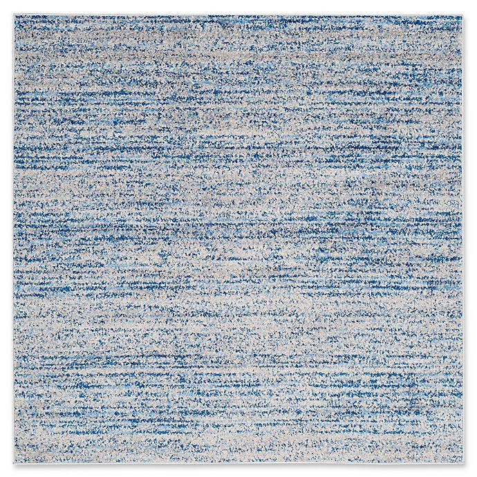 Alternate image 1 for Safavieh Adirondack Heather 4-Foot Square Accent Rug in Blue