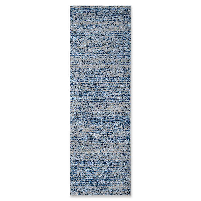 Alternate image 1 for Safavieh Adirondack Heather 2-Foot 6-Inch x 12-Foot Runner in Blue