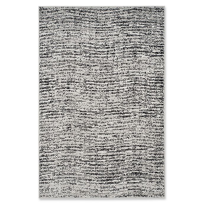 Alternate image 1 for Safavieh Adirondack Heather 5-Foot 1-Inch x 7-Foot 6-Inch Area Rug in Black