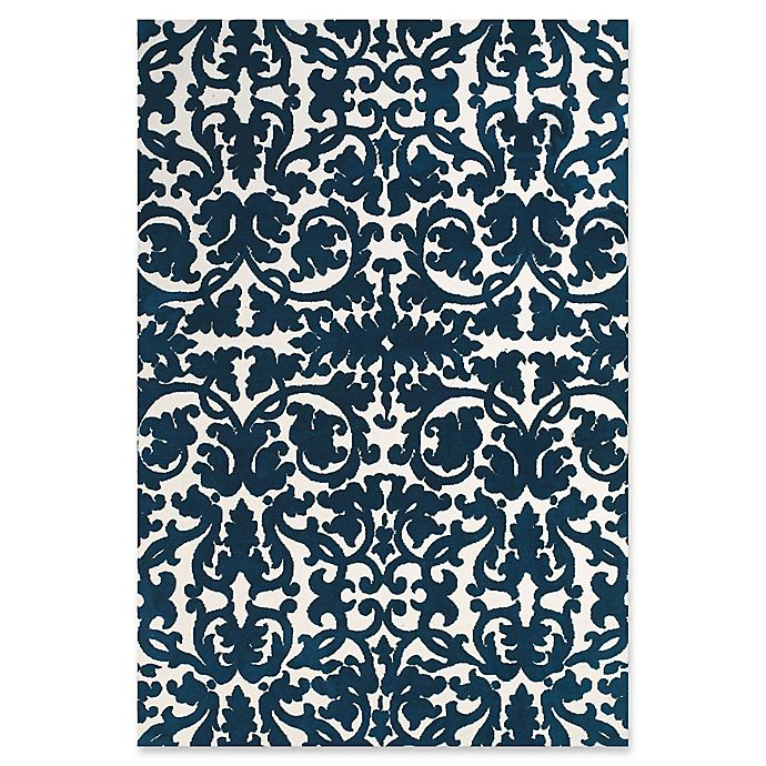 Alternate image 1 for Feizy Rugs Pia 5-Foot 6-Inch x 8-Foot Area Rug in Navy