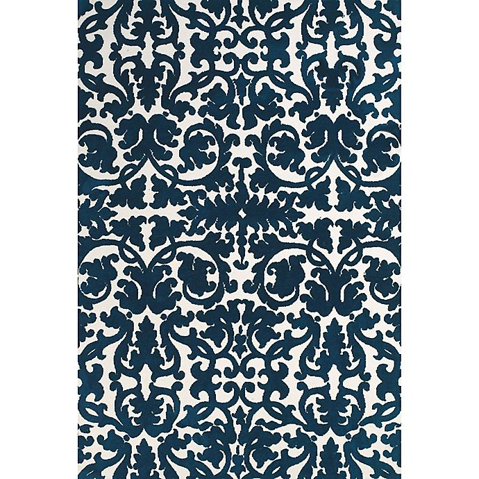 Alternate image 1 for Feizy Rugs Pia 8-Foot x 11-Foot Area Rug in Navy