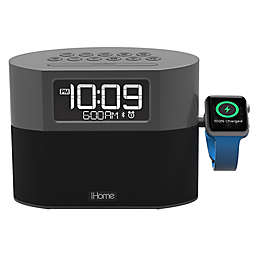 iHome® FM Radio Apple® Watch Charging Alarm Clock