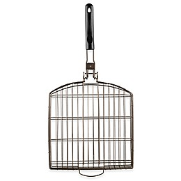 Just Grillin' Oversized Grilling Basket with Folding Handle