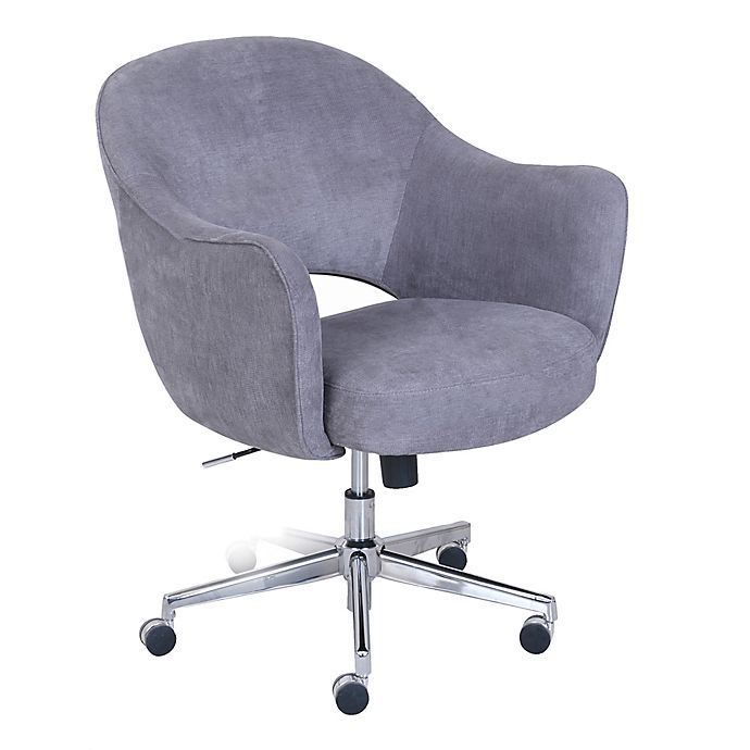 Serta Valetta Home Office Chair In Dovetail Grey Bed Bath Beyond