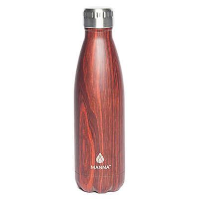 Manna™ Vogue® 17 oz. Water Bottle in Mahogany