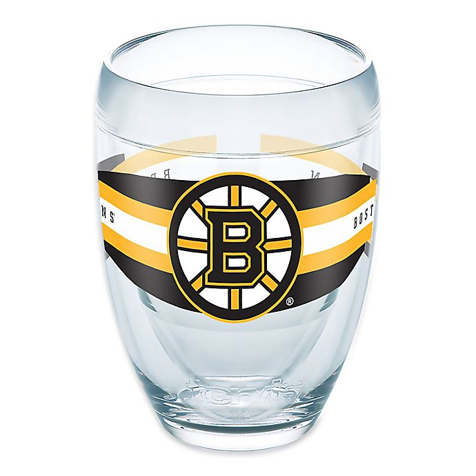 Alternate image 1 for Tervis® NHL Boston Bruins 9 oz. Select Stemless Wine Glass