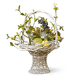 National Tree Company 14-Inch Decorated Easter Basket