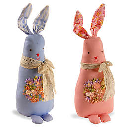 National Tree Company Garden Accents 20-Inch Fabric Rabbit