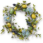 National Tree Company 18-Inch Easter Eggs and Hydrangeas Wreath