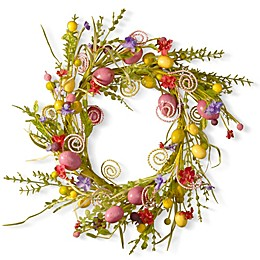 National Tree Company Garden Accents 24-Inch Easter Wreath