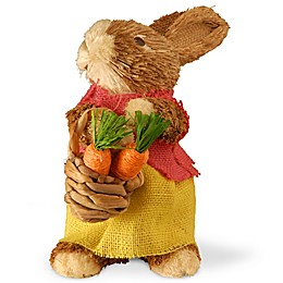 National Tree Company 10-Inch Dainty Brown Bunny