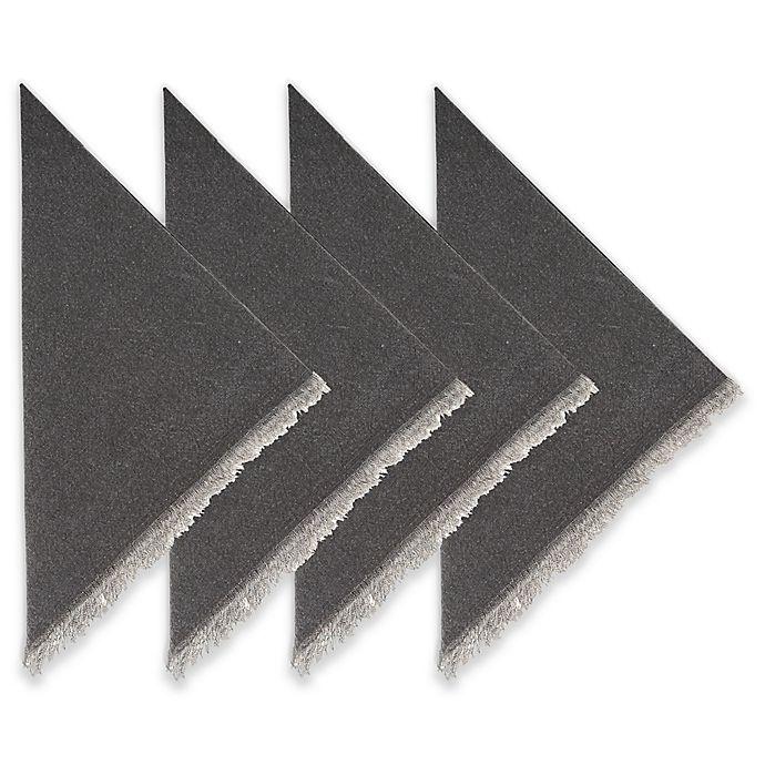 Alternate image 1 for Piana Napkins with Fringe (Set of 4)
