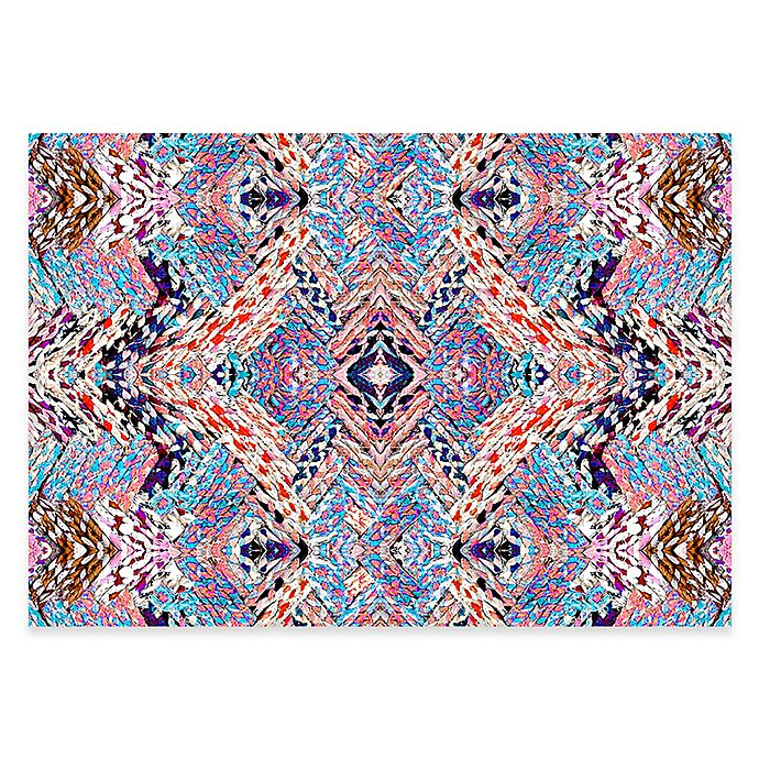 Alternate image 1 for The Softer Side By Weather Guard™  44-Inch x 96-Inch Crazy Braid Area Mat