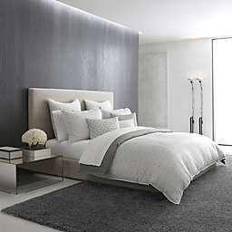 Vera Wang™ Lux Mirror Square Duvet Cover in Grey